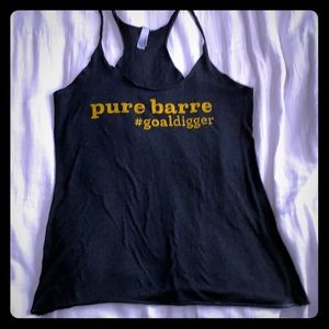 "Next Level Pure Barre ""goal digger"" Tank"